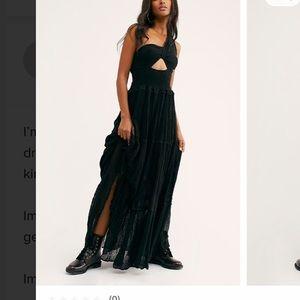 Free People Maxi Dress in Black
